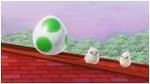 A Yoshi's Egg in Super Mario Odyssey.
