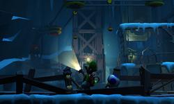 The Airway segment from Luigi's Mansion: Dark Moon.