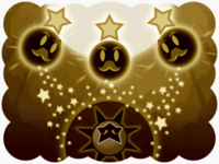 Images of the Dark Star rampaging throughout the kingdom and being sealed by the Star Sprites.
