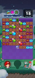Stage 1103 from Dr. Mario World