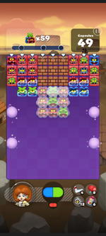 Stage 240 from Dr. Mario World