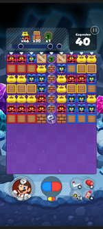 Stage 490 from Dr. Mario World