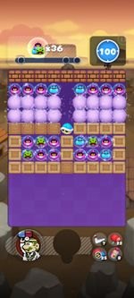 Stage 6B from Dr. Mario World since version 2.0.0
