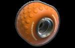 Hot Monster tires from Mario Kart 8
