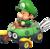Baby Luigi in Mario Kart 8