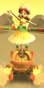 Daisy (Fairy) performing a trick.