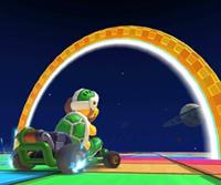 The icon of the Mario Cup challenge from the Mario vs. Luigi Tour in Mario Kart Tour