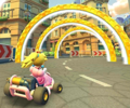 The icon of the Diddy Kong Cup challenge from the 2019 Paris Tour in Mario Kart Tour