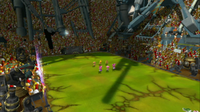 The Vice stadium in Mario Strikers Charged