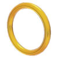 A Coin Ring from Super Mario 3D World.