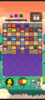 Stage 563 from Dr. Mario World
