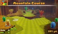 Hole 5 on Mountain Course in Mario Golf: World Tour