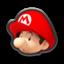 Baby Mario's head icon in Mario Kart 8
