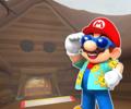 N64 Choco Mountain T from Mario Kart Tour