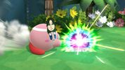 Kirby's Mii Gunner outfit in Super Smash Bros. for Wii U