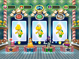 Odd Card Out from Mario Party 6