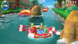 The High-Flying Balloons Path in Super Mario Party.