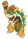 Mario Tennis Artwork: Bowser