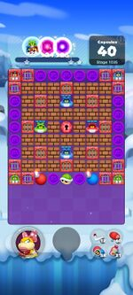 Stage 1035 from Dr. Mario World