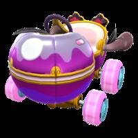 Poison Apple Kart from Mario Kart Tour