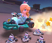 The icon of the Hammer Bro Cup challenge from the 2020 Winter Tour in Mario Kart Tour