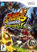 Box Art for Mario Strikers Charged.