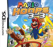 North American boxart for Mario Hoops 3-on-3