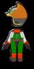 Fox Mii racing suit from Mario Kart 8