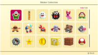 Stickers (page 4) in Super Mario Party