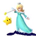 Artwork of Rosalina and Luma, from Super Smash Bros. for Nintendo 3DS / Wii U.