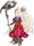 Viridi's spirit sprite from Super Smash Bros. Ultimate