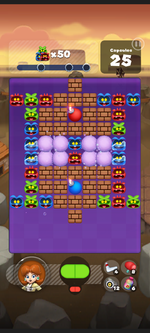 Stage 238 from Dr. Mario World