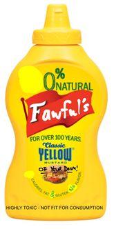 The mustard of your doom!
