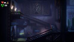 Service Stairwell, Luigi's Mansion 3.