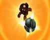 Mario performing his Mega Strike in Mario Strikers Charged