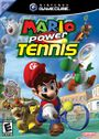 The front cover for Mario Power Tennis for the Nintendo GameCube