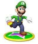 Artwork of Luigi from Mario Party 4