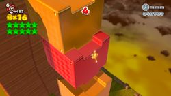 Mystery House Claw Climb in the game Super Mario 3D World