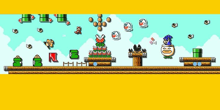 Picture shown with the third question of Nintendo Mushroom Kingdom Fun Personality Quiz