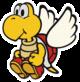 Koopa Paratroopa sprite from Paper Mario: Color Splash