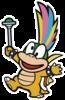 Lemmy Koopa in Paper Mario: Color Splash.