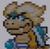 Ludwig von Koopa icon in Super Mario Maker 2 (Super Mario World style)
