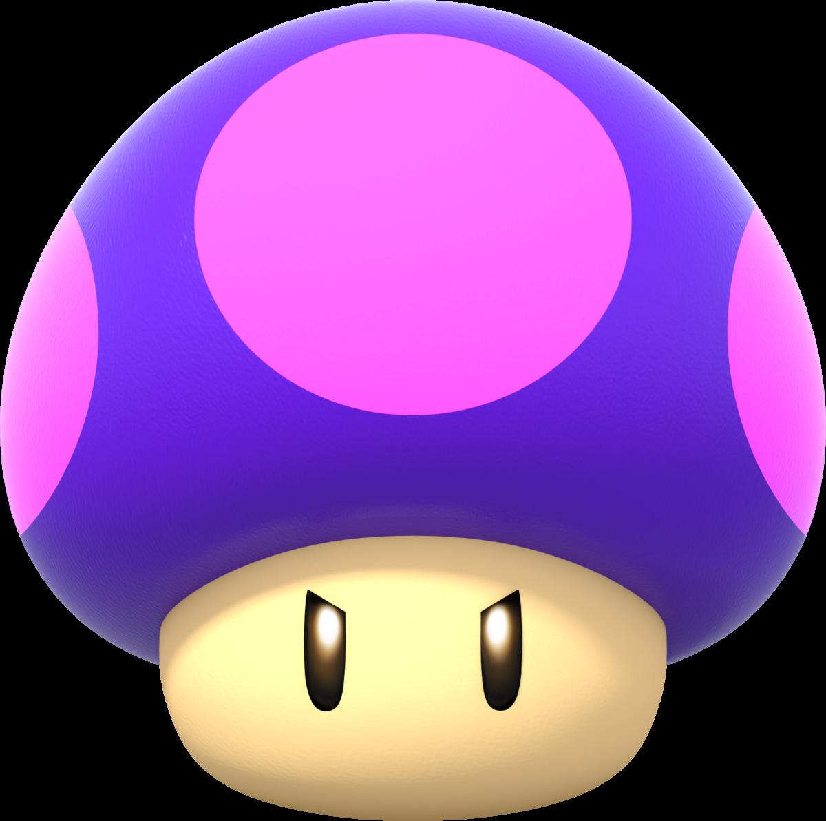 Felt Red Mario Mushroom Badge Reel