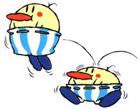 Official art of two Burts