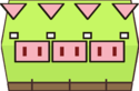 Sprite of a Pigarithm from Super Paper Mario.