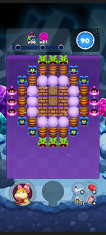Stage 13C from Dr. Mario World