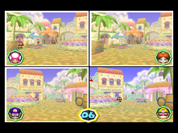 Freeze Frame from Mario Party 6