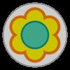 Daisy emblem from Mario Kart 8
