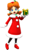 Daisy (Holiday Cheer) from Mario Kart Tour