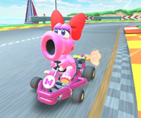 The icon of the Peachette Cup's challenge from the Hammer Bro Tour in Mario Kart Tour.